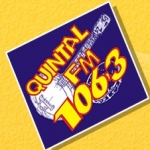 Logo da emissora R�dio Quintal 106.3 FM