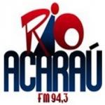 Logo da emissora R�dio Rio Acara� 94.3 FM