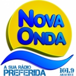 Logo da emissora Rádio Nova Onda 101.9 FM