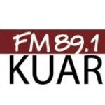 Logo da emissora KUAR 89 FM