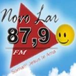 Logo da emissora Rádio Novo Lar 87.9 FM