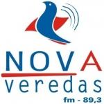 Logo da emissora Rádio Nova Veredas 89.3 FM