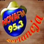 Logo da emissora R�dio Nova Sertaneja 95.3 FM
