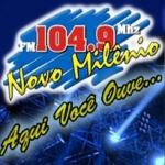 Logo da emissora R�dio Novo Mil�nio 104.9 FM