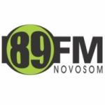 Logo da emissora R�dio Novo Som 89.1 FM