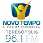 Logo da emissora Rádio Novo Tempo 96.1 FM