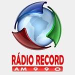 Logo da emissora Rádio Record 990 AM