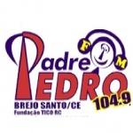 Logo da emissora Rádio Padre Pedro 104.9 FM