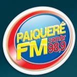Logo da emissora R�dio Paiquer� 98.9 FM
