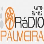 Logo da emissora Rádio Palmeira 740 AM