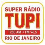 Logo da emissora Super R�dio Tupi FM 96.5 AM 1280