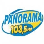 Logo da emissora Rádio Panorama 103.5 FM
