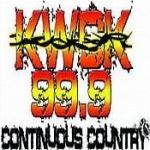 Logo da emissora Radio KWCK 99.9 FM
