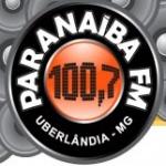 Logo da emissora R�dio Parana�ba 100.7 FM