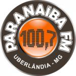 Logo da emissora Rádio Paranaíba 100.7 FM