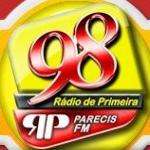 Logo da emissora R�dio Parecis 98.1 FM
