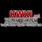 Logo da emissora KWXI 670 AM