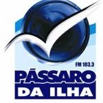 Logo da emissora Rádio Pássaro da Ilha 103.3 FM