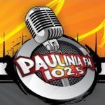 Logo da emissora R�dio Paulinia 102.5 FM