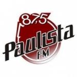 Logo da emissora Rádio Paulista 87.5 FM