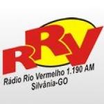 Logo da emissora Rádio Rio Vermelho 1190 AM