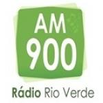 Logo da emissora Rádio Rio Verde 900 AM
