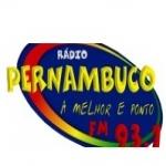 Logo da emissora Rádio Pernambuco 93.1 FM