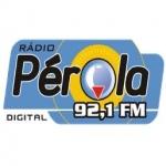 Logo da emissora R�dio P�rola 92.1 FM