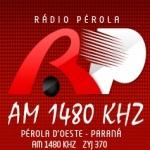 Logo da emissora R�dio P�rola 1480 AM