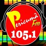 Logo da emissora R�dio Pericum� 105.1 FM