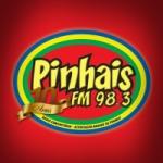 Logo da emissora R�dio Pinhais 98.3 FM