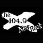 Logo da emissora KXNA 104.9 FM