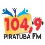 Logo da emissora R�dio Piratuba 104.9 FM