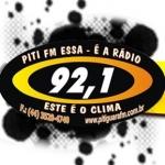 Logo da emissora Rádio Piti 92.1 FM