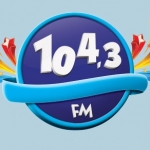 Logo da emissora Rádio Piumhi 104.3 FM