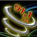 Logo da emissora R�dio Planalto 91.1 FM