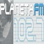 Logo da emissora R�dio Planeta 102.7 FM