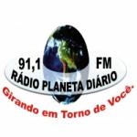 Logo da emissora R�dio Planeta Di�rio  FM