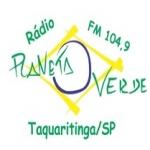 Logo da emissora R�dio Planeta Verde 104.9 FM