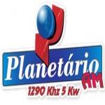 Logo da emissora Rádio Planetário 1290 AM