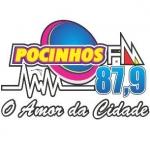 Logo da emissora Rádio Pocinhos 87.9 FM