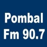 Logo da emissora R�dio Pombal 90.7 FM