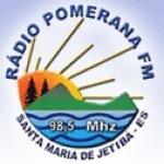 Logo da emissora R�dio Pomerana 98.5 FM
