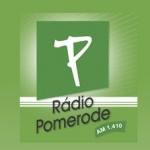 Logo da emissora Rádio Pomerode 1410 AM