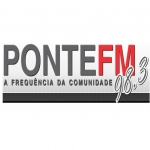 Logo da emissora R�dio Ponte 98.3 FM
