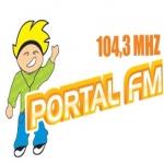 Logo da emissora R�dio Portal 104.3 FM