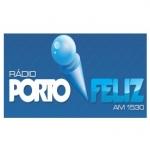 Logo da emissora R�dio Porto Feliz 1530 AM