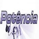 Logo da emissora Rádio Potência 104.9 FM