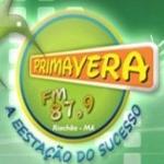 Logo da emissora Rádio Primavera 87 FM