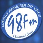 Logo da emissora R�dio Princesa do Vale 98.7 FM